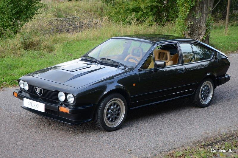 Alfa Romeo GTV6  - 1986