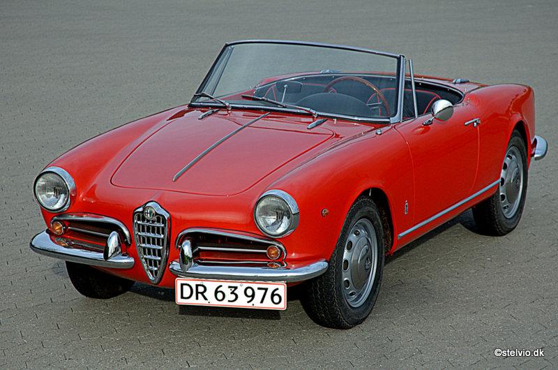 1960 alfa romeo giulietta spider veloce for sale
