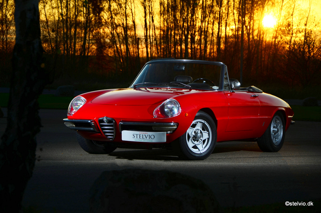 Alfa Romeo Spider 1750 Duetto