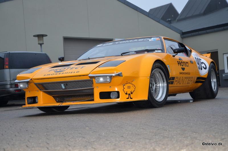 De Tomaso Pantera Group 4 FIA race car