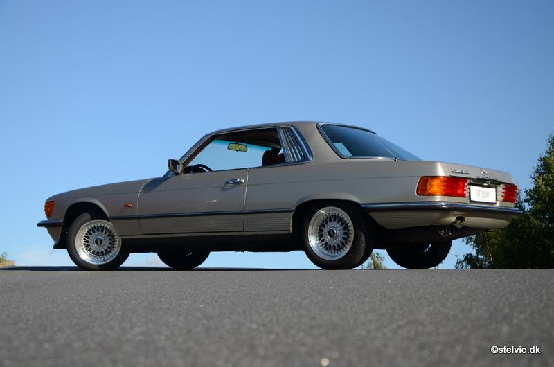 Mercedes benz 350 slc 1976 stelvio